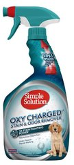 Средство для удаления пятен и запахов Simple Solution Oxy charged Stain and odor remover 945ml