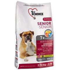 1st Choice Senior Sensitive Skin&Coat Lamb&Fish 12 кг