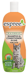 ESPREE Shampoo'N Conditioner In One for Cats 355мл
