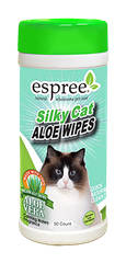 ESPREE Silky Cat Grooming Wipes 50шт