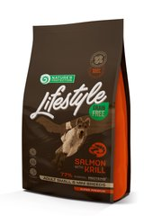 NP Lifestyle Grain Free Salmon with krill Adult Small and Mini Breeds 17кг