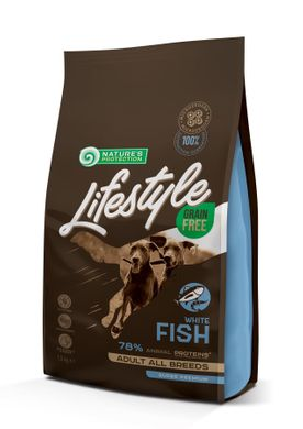 NP Lifestyle Grain Free White Fish Adult All Breeds 10кг
