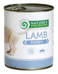 Nature's Protection Puppy Lamb 800г