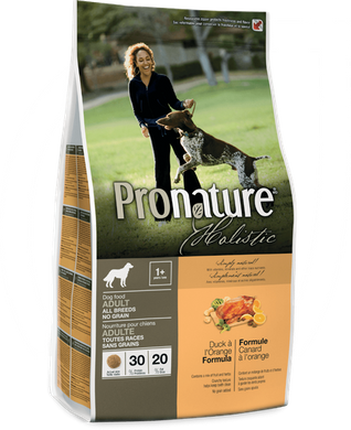 Pronature Holistic Adult Duck&Orange 13.6 кг